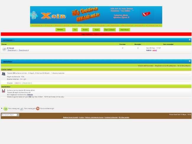 www.xsir.net.tc VBulletin 3d Tema