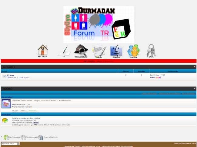 Mavi siyahhh Tema Forumtr ertac97