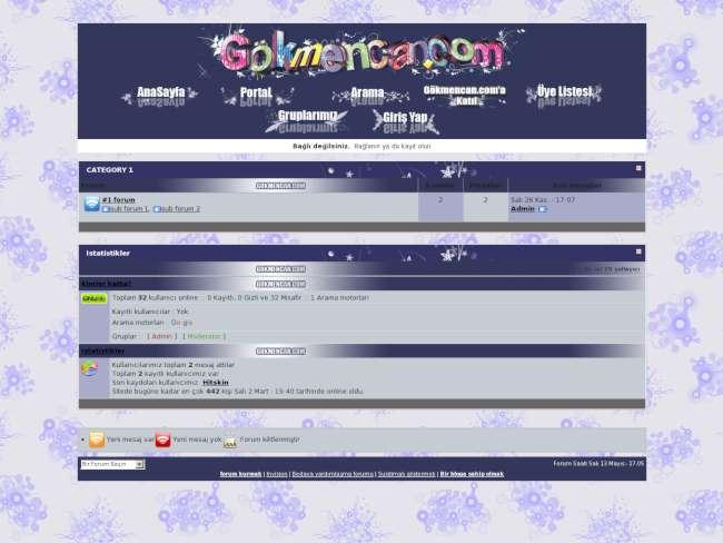 gokmencan.com vektörel Tema
