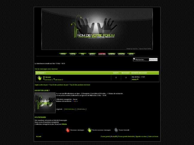 Mains en web2