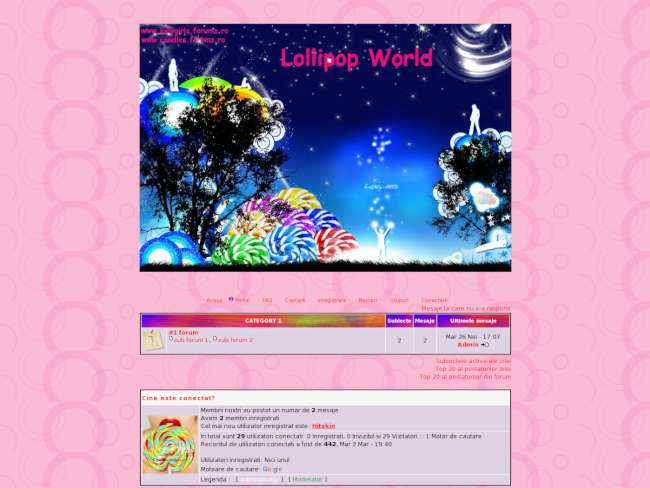 World of  lollipops
