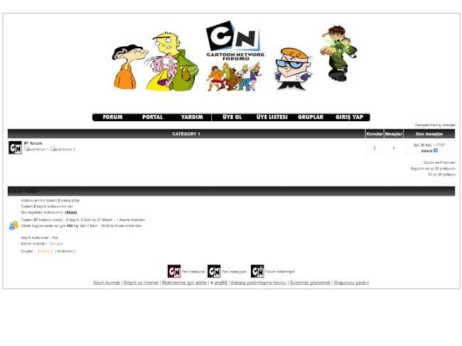 Cartoon Network Teması