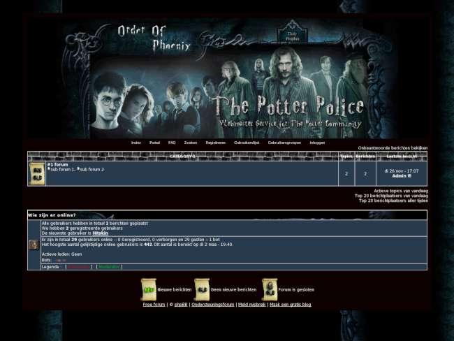 The potter police skin