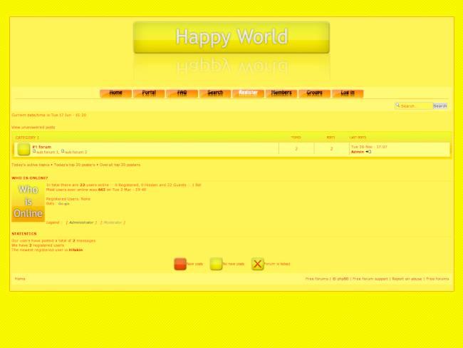 Web 2.0 Yellow by Iathεn