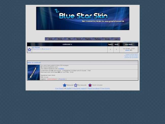 StarlightBlue SKin