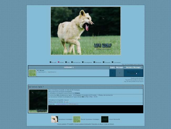 Thème loups