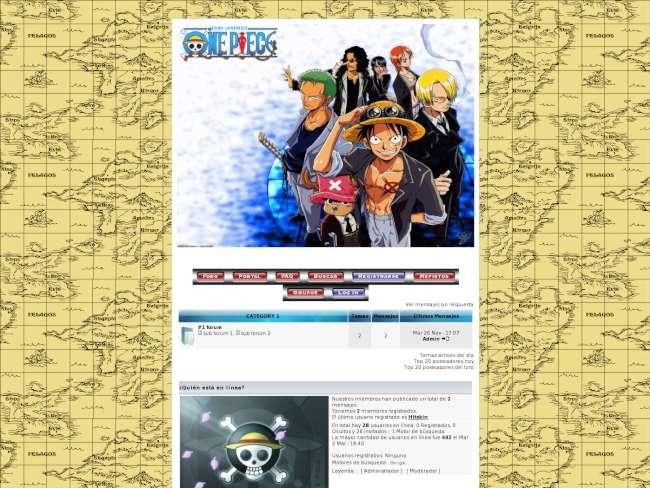 Estilo One Piece.