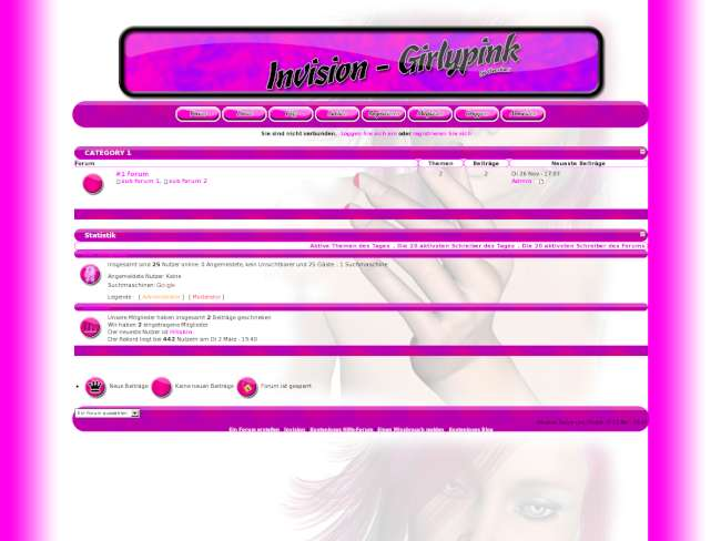 [Invision]Girlypink