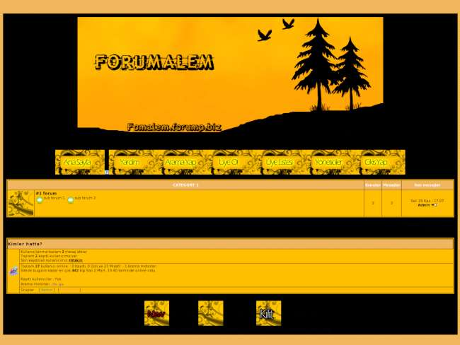 Forum alem teması by Forumexpres