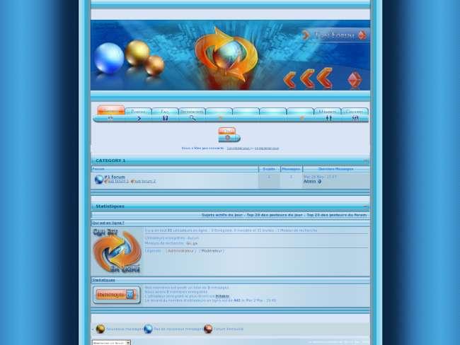 Web style invision