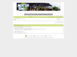 Fórum Mortal Sims™ - e...