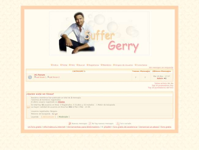 Suffer gerry baby