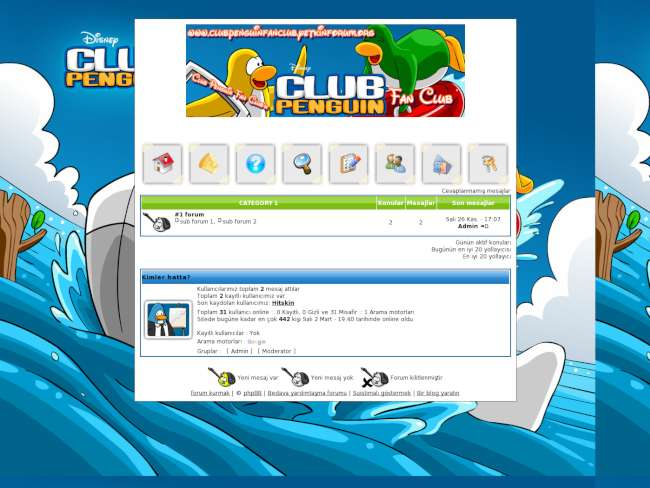 Club penguin fan club