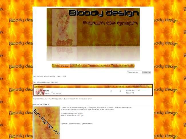 Bloody design