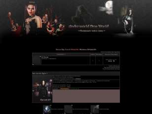 Underworld new world