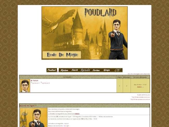 Poudlard potter