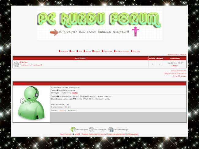 Pckurdu forum teması