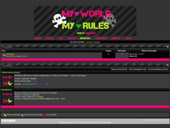 My World, My Rules