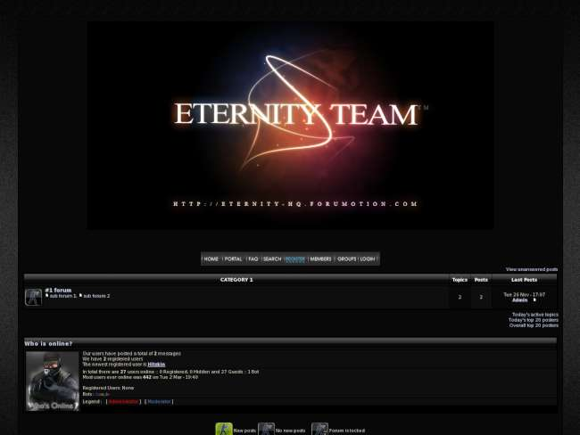 Eternity team