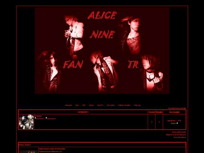 Alice nine fan tr