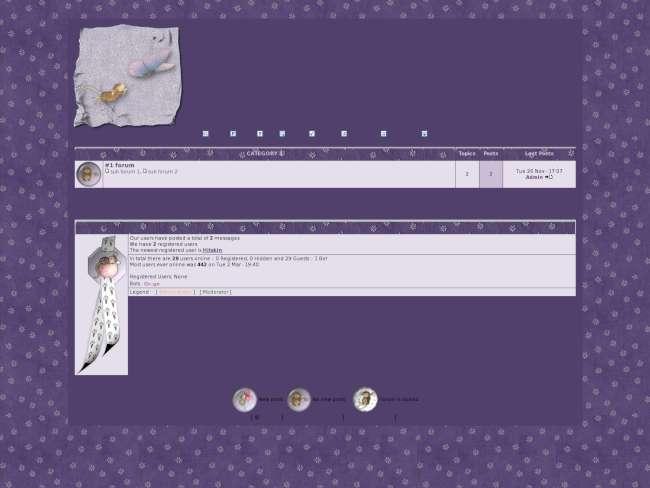 http://susieskinmaker.actieforum.com/forum.htm