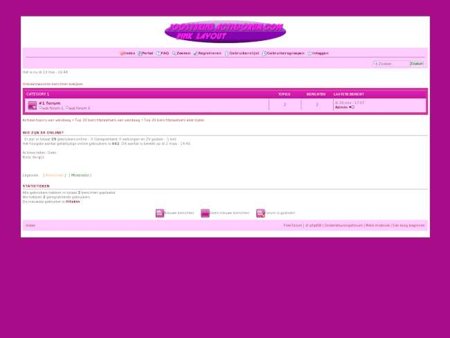 Pink Layout
