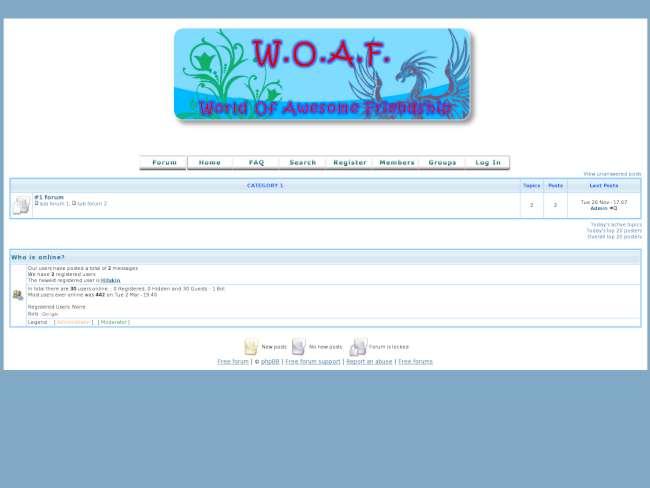 W.o.a.f. skin