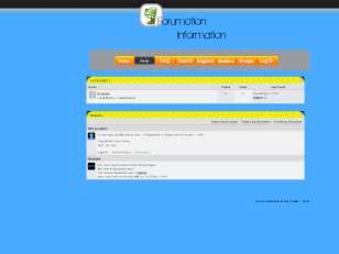 Forumotion info