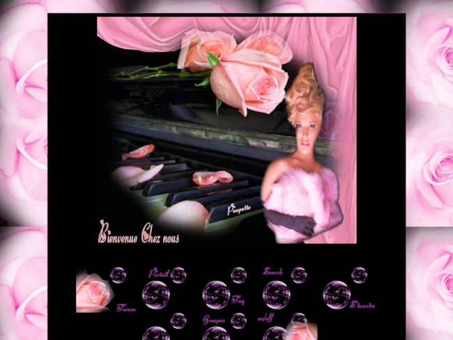 les danse de pétales de rose
