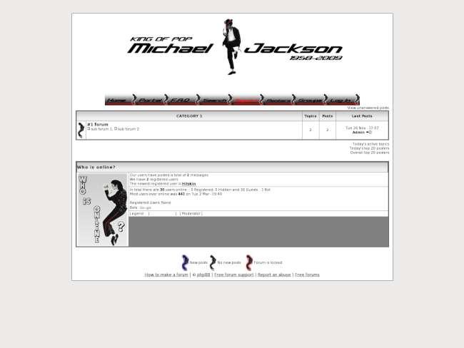 Michael Jackson Theme 2