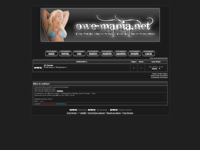 OWE-Mania
