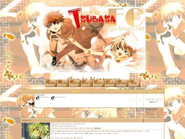 Tsubasa fanclub - hand...