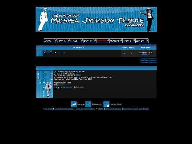 Michael jackson theme 3