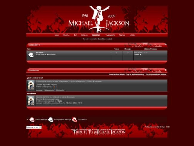 Tribute to Michael Jackson Invision