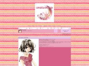 Pink anime theme