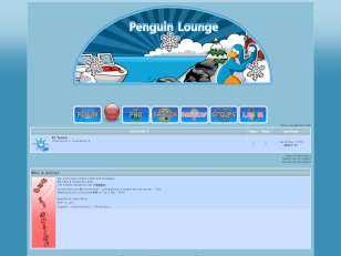 Penguin lounge skin