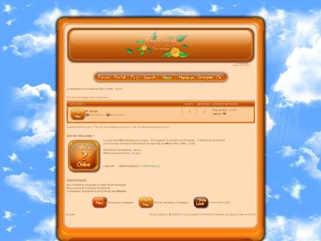 Cadre Freshly Orange V3