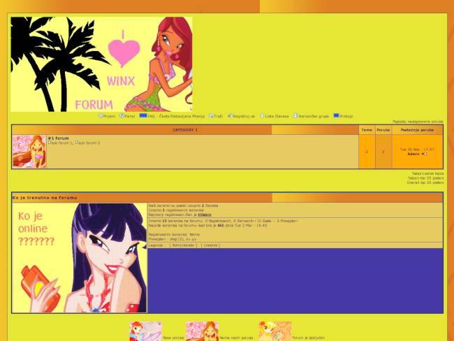 I Love Winx Forum
