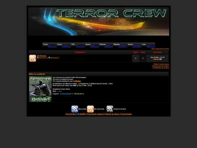 Terror Crew Fixed