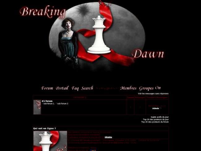 Alice - breaking dawn