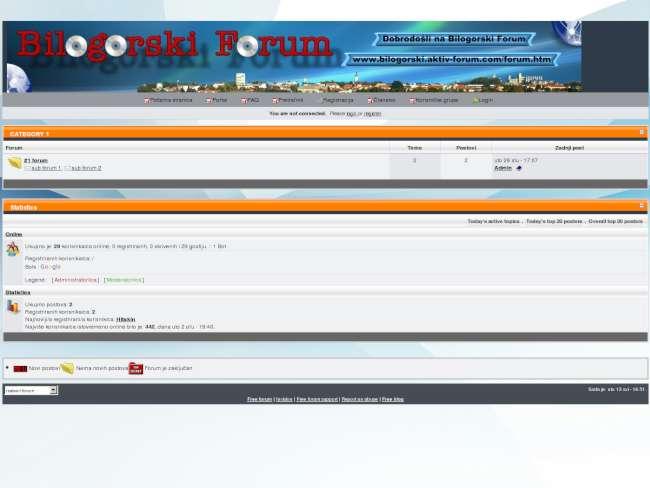 Bilogorski forum1
