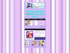 Anime purple theme
