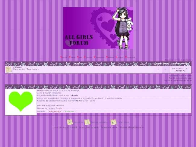 Purple anime theme