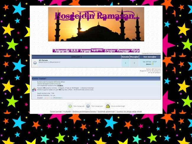 Yıldızlı Ramazan :)