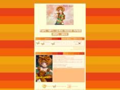 Orange fresh theme