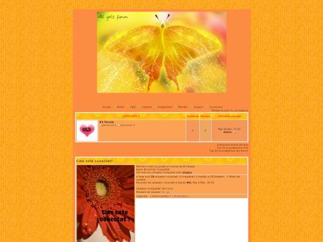 Autumn allgirls theme