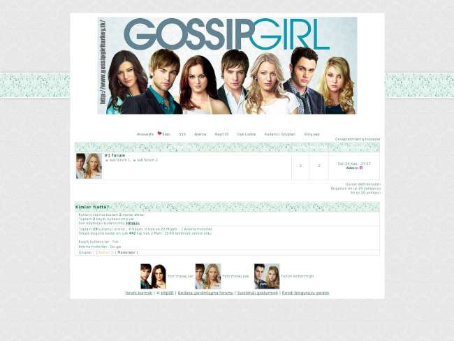 Gossip girl türkiye fan