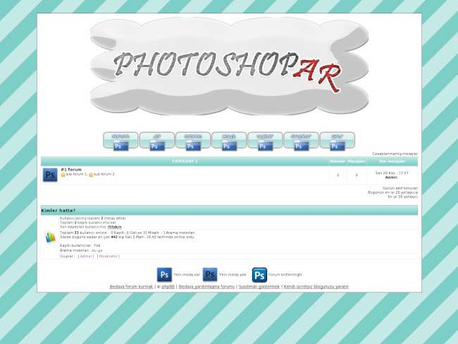 Yeni photoshopar sites...