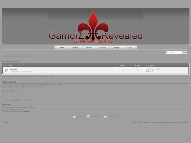 Gamerz Revealed 2(Simple)
