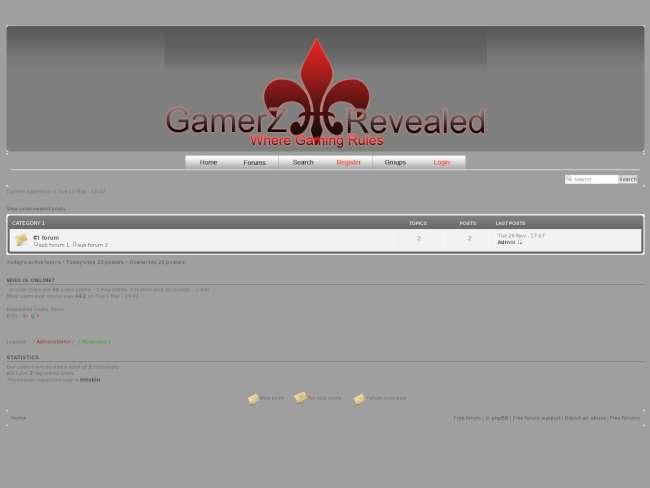 Gamerz revealed 2(simple)